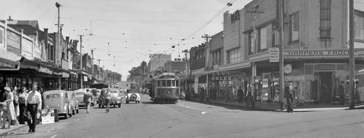 Acland Street in the 40s