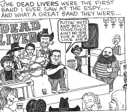Fred discovers the Dead Livers